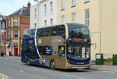 SN66 VXU. (curly42) Tags: sn66vxu stagecoach10750 adltrident2 adlenviro400mmc stagecoachgold94 bus transport travel publictransport roadtransport stagecoach 10750