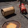Grazing Drums, Red Hook, Brooklyn, 2018. (Jack Toolin) Tags: urban industrial cities brooklyn newtopographics newyorkcity documentaryphotography urbanphotography urbanstudies