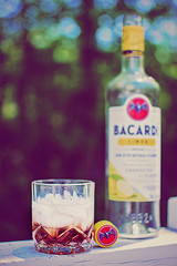 1|365 (Kris Oneal Photography) Tags: potd outdoors glass whiskey bacardi rum 365project