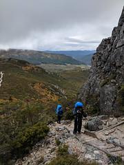 Day 1 climbing the mountain (MakeReel Martin Ryan) Tags: cradlemountains makereel martinryan overlandtrack tasmania trekking martinryanmakereelcom cradlemountain australia au
