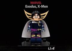 Exodus, X-Men (L1n6zz) Tags: engineerio lego xmen marvel exodus