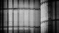 Storage Tanks, Northumberland County, Ontario (duaneschermerhorn) Tags: black white blackandwhite blackwhite bw noire noir blanc blanco schwartz weiss silos metal storage storagetanks