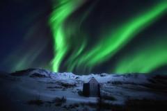 Auroras with moonlight (yan08865) Tags: iceland aurora night snow winter moonlight nature landscapes earth nordic skaftafell mountain borealis solar polar lights pavlis ngc sky longexposure