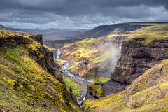 Haifoss Valley in SE Iceland. (deanallanphotography) Tags: art adventure beauty colors iceland landscape light mountain ngc natgeo nature outdoor photography river scenic travel view valley water
