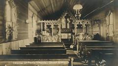 Shoal Lake - St. Paul's Church, 1911 (vintage.winnipeg) Tags: manitoba canada vintage history historic shoallake