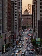 San Francisco_California Street (kkorsan) Tags: california sanfrancisco chinatown californiastreet cityscape bridge bridgetower sanfranciscooaklandbaybridge travelphotography streetview unitedstates