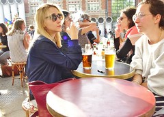 2018-05-09   Paris - Café Les Fontaines - 12 Rue Brisemiche (P.K. - Paris) Tags: paris mai 2018 may people candid street café terrasse terrace smoking