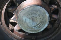 Hubcap, 1930 Pierce-Arrow Model B 7-Passenger (Bill Jacomet) Tags: keels and wheels concours delegance lakewood yacht club seabrook tx texas 2018 hubcap 1930 30 pierce arrow piercearrow model b 7 seven passenger 7passenger