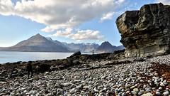 the Black Cuillins (andrewmckie) Tags: blackcuillin cuillin isleofskye skye elgol scenery scottishscenery scottish scotland mountains sea seaclifffs