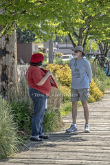 The petition pitch (Tom Blankenship Photography) Tags: woodenboat festival 2018 may olympia wa washington percivallanding show tomblankenship photography photographer photographs a7iii ef24105mm stm