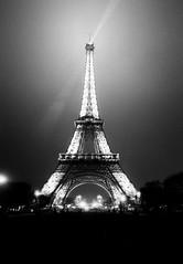 La Tour (karstenphoto) Tags: cityoflight structure building architecture tour letour eiffel tower g2 contax france 35mm ishootfilm filmisalive film analog hp5 ilford paris