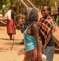 Tsemay Women (Rod Waddington) Tags: africa african afrique afrika äthiopien ethiopia ethiopian ethnic etiopia ethnicity ethiopie etiopian tsemay tribe traditional tribal culture cultural women omovalley omo outdoor omoriver
