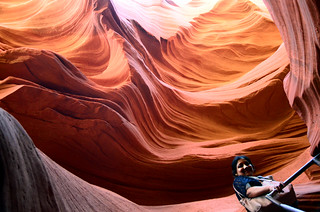 Antelope Canyon in Arizona: where the geo-physical laws culminate into spectacular artistries of nature- XXXVII