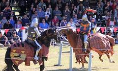 Medieval Fayre (sic) (iansand) Tags: medievalfayre medievalfaire medieval jousting joust knight tilting medievalfair