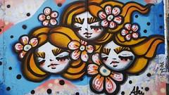 Aki Yaguchi... (colourourcity) Tags: colourourcity originalcontent streetart streetartaustralia streetartnow graffiti melbourne burncity awesome nofilters streetartmelbourne graffitimelbourne laneways aki akiyaguchi