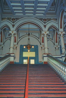 Richmond  Virginia - Old City Hall - Historic - Gothic Architecture Interior