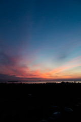 Sunrise 4.25am 21st May 2018  (8 of 9) (Philip Gillespie) Tags: edinburgh sunrise scotland sun sky clouds sea forth canon 5dsr nature morning water landscape seascape pink orange blue hour peach peaceful peace tranquility