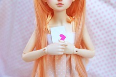 [May of Dolls 22/31] - Loving ♥ (SunShineRu) Tags: mnf minifee miyu fairyland bjd ball jointed doll dolls may loving slim msd cute kawaii love letter