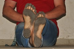 dirty city feet 564 (dirtyfeet6811) Tags: feet soles barefoot dirtyfeet dirtysoles blacksoles cityfeet
