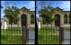 Landeskirchliche Gemeinschaft, Reichenbach 3-D / CrossView / Stereoscopy / HDRaw (Stereotron) Tags: saxony sachsen vogtland reichenbach church evangelical landeskirchlichegemeinschaft europe germany deutschland crosseye crossview xview pair freeview sidebyside sbs kreuzblick 3d 3dphoto 3dstereo 3rddimension spatial stereo stereo3d stereophoto stereophotography stereoscopic stereoscopy stereotron threedimensional stereoview stereophotomaker stereophotograph 3dpicture 3dimage twin canon eos 550d yongnuo radio transmitter remote control synchron kitlens 1855mm tonemapping hdr hdri raw