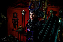 Latex Maleficent photoshoot with Zirconia Starfighter, by SpirosK photography (SpirosK photography) Tags: zirconia zirconiastarfighter portrait latex fetish greek greece photoshoot studio spiroskphotography sexy beautiful colourful standing purple athens maleficent cosplay latexcosplay latexmaleficent disney villain dark witch dungeon