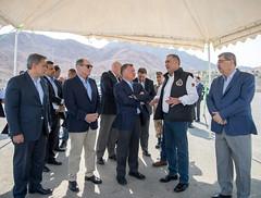 جلالة الملك عبدالله الثاني يطلع على الخطط الجارية لتنفيذ المرحلة الثالثة من مشروع مرسى زايد في مدينة العقبة (Royal Hashemite Court) Tags: kingabdullahii aqaba jordan marsa zayed project