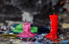 Offrandes (brunomalfondet) Tags: copacabana bougies titicaca chemindecroix bolivie