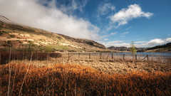 Sunny day (Einir Wyn Leigh) Tags: landscape rural sunshine light colorful wales water mountains outside nikon