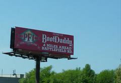 PFI Boot Daddy billboard - Springfield, Missouri (Adventurer Dustin Holmes) Tags: 2018 billboard highway65 schoolcraftfreeway bootdaddy pfi americaswesternstore springfieldmo springfieldmissouri business businesses touristattraction touristattractions shopping