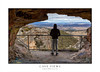 Viewing a cave lookout in Blue Mountains Australia (sugarbellaleah) Tags: thisisaustralia australia cave lookout male man person scenic travel adventure mountain bluemountains pagodas rocks valley rock geology people tourism casual hoodie trend grafitti natural evnironment nature downtoearth authentic realpeople experience jeans lithgow hassanswalls