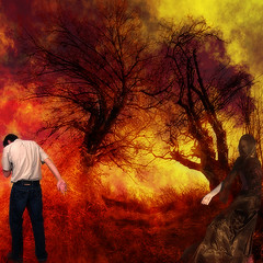 wildfire (old&timer) Tags: colour background filtereffect composite textured conceptual emotional song4u oldtimer imagery digitalart laszlolocsei
