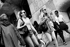 Need a N̶a̶p̶ Siesta (sawyersource) Tags: blackandwhite bw people yawn yawning decisivemoment walking tired d7200 35mm nikon dslr streetphotography street candid unsuspecting barcelona lapedrera passersby women woman spain mouth streetlife streettogs españa catalunya catalonia monochrome mono