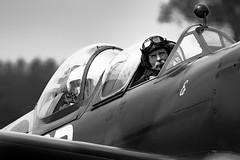British Aviator (Miguel Suárez Miyar) Tags: aerolegends headcorn 80400 afs spitfire british aviator charliebrown