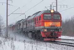 2М62-0816 (dm35ru) Tags: russia vologdaregion railroad railway train russianrailways rzd diesel locomotive 2m62