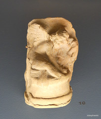 Aiani Museum, Molded Terracotta figure of Eros .JPG (tobeytravels) Tags: macedon macedonia alexanderthegreat alexandrthe3rd votive gravegoods clay figurine mould