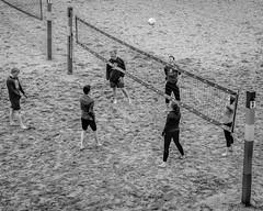 DSCF9835-Edit-Edit (carolea2014) Tags: blackwhite miad2 sand volleyball