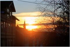 Light in November (Marie Helèn) Tags: sunlight winter sunset rodelökka oslo oslove sky oldhouses houses canon streetphotography citylife cityscape 50mm