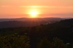 Sunset.... (Sandyslifethroughalens) Tags: sunset landscapephotography landscape welshlandscape welshcountryside naturephotography nature eveningphotography wales redsky sunrays