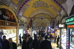 The Grand Bizaar (lazy south's travels) Tags: istanbul turkey turkish market souk building architecture urban shop shopping candid street scene
