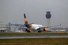 Thomas Cook G-OMYT J78A1461 (M0JRA) Tags: thomas cook gomyt manchester airport planes flying jets biz aircraft pilot sky clouds runways