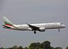 LZ-VAR Embraer 190STD Bulgaria Air (Keith B Pics) Tags: lzvar embraer bulgariaair southend sen egmc sofia keithbpics erj190 pttpt wwwairbg
