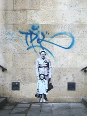 rue Edmond Flamand (Leo & Pipo) Tags: leo pipo paris streetart street art artwork collage affiche poster paste pasteup wheatpaste cut paper urbain urban city ville rue mur wall sticker stencil tag graffiti france retro vintage analog handmade mixed media dada surreal leopipo leoetpipo