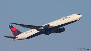 Boeing 767 -432(ER) DELTA AIRLINES N827MH 29705  Francfort février 2016