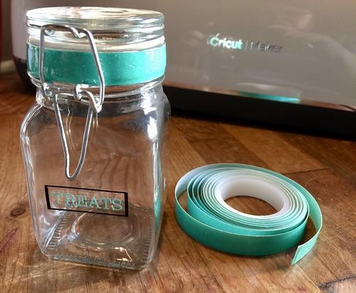treat jar in progress