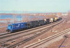 CR 2810                        4-78 (C E Turley) Tags: trains railroads railway b237 conrail cr