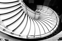 Downward Spirral (NikonNigel) Tags: copyright©nigelcox copyrights mono style