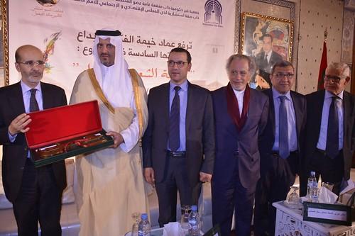 *-*-* خيمة الفكر والإبداع بالمغرب تكرّم الأمير خالد الفيصل *-*-*