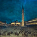 Nocturnal Good Friday Procession in Piazza San Marco - Francesco Guardi