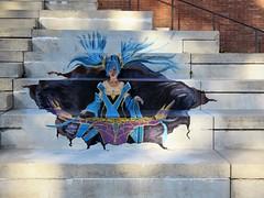 Luc Borms & An Cardinael / Keizerviaduct - 7 mei 2018 (Ferdinand 'Ferre' Feys) Tags: gent ghent gand belgium belgique belgië streetart artdelarue graffitiart graffiti graff urbanart urbanarte arteurbano ferdinandfeys