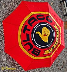 BULTACO (Domènec Ventosa) Tags: fabricante motocicletas publicidad paraguas maker motorcycles advertising umbrella